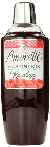 Amoretti Premium Martini Cocktail Mix, Raspberry, 28 Ounce