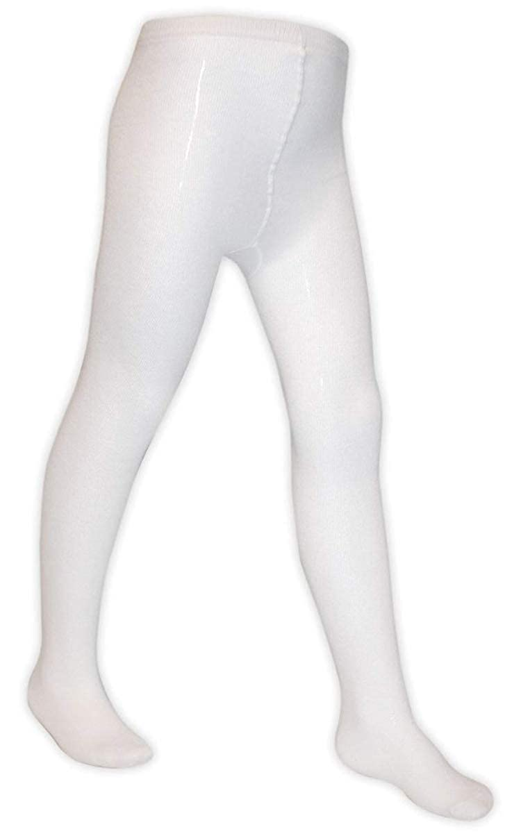 6 Pairs of Girls Warm Knitted Soft Cotton Rich School Uniform Tights//Black White // 1 to 12 Years Old Grey Navy