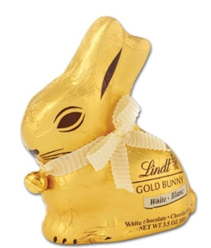 - Lindt GOLD BUNNY - White Chocolate 100g
