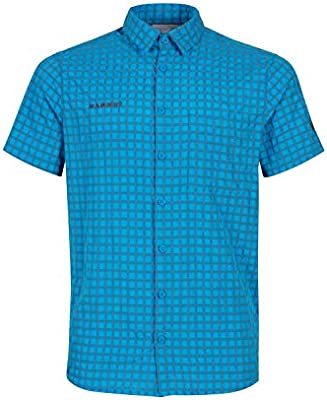 Mammut Lenni - Camisa de Manga Corta para Hombre, Unzutreffend, Verano, Lenni, Hombre, Color Titanio gentiano, tamaño Small: Amazon.es: Deportes y aire libre