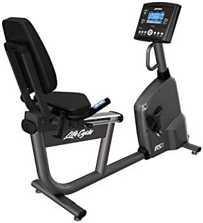 Life Fitness - Bicicleta estática reclinada rs1 Life Cycle go + ...