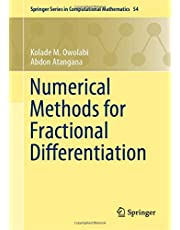 Numerical Methods for Fractional Differentiation (Springer Series in Computational Mathematics)
