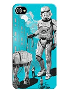 Christopher Tinnermon TPU Unique Faceplate Cover Case Durable for iphone 4/4s