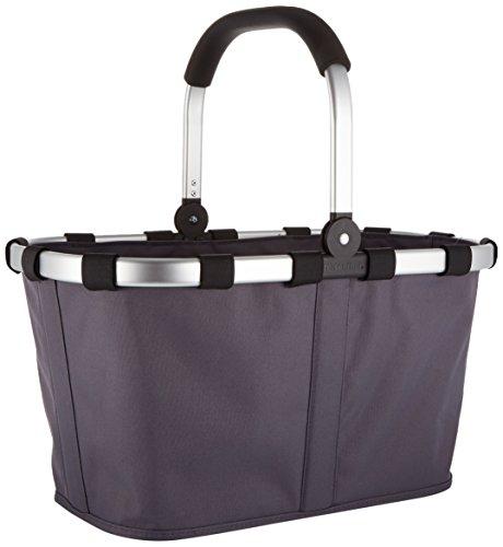 Price comparison product image Reisenthel Carrybag, Shopping Bag, Basket for Shopping, Graphite / Grey, BK7033