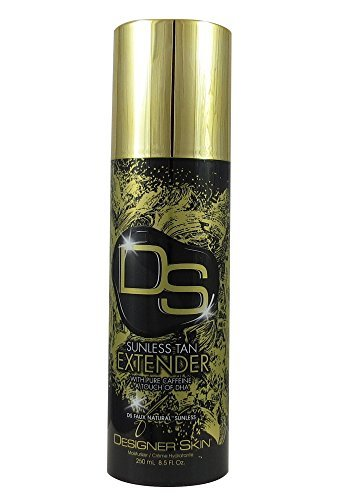 NEW 2017 Designer Skin Faux Natural Sunless Tan Extender 8.5 oz (Designer Line Natural)