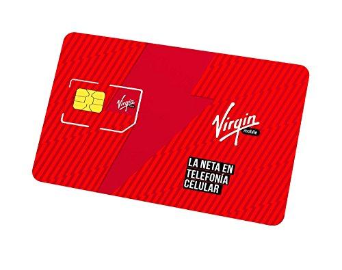 Chip Virgin Mobile Grande - 5GB y minutos ilimitados primeros 30 días