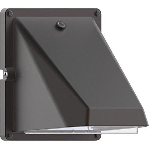 14 Watt - LED - Miniature Wall Pack - Bronze Finish - 60W Incand Equal - 5000K - 120 Volt - PLT MLW6L14W750L50KBZ