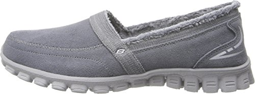Skechers Womens Ex Flex 2 - Chilly Slip-On Charcoal Size 7.5