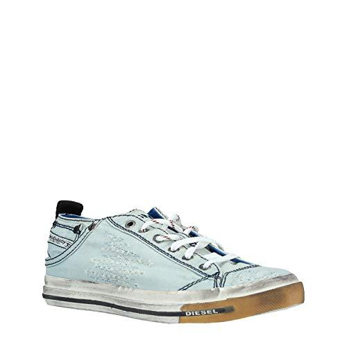- Diesel Men's Magnete Exposure Low I-Sneakers, Indigo 10.5 M US