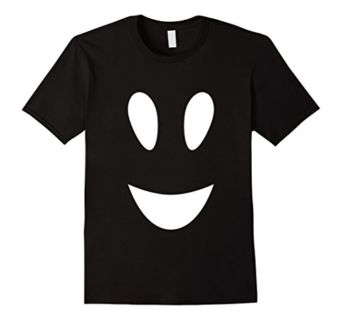 Mens FUNNY HALLOWEEN GHOST T-SHIRT [OUTFIT & COSTUME/GIFT IDEA] XL Black