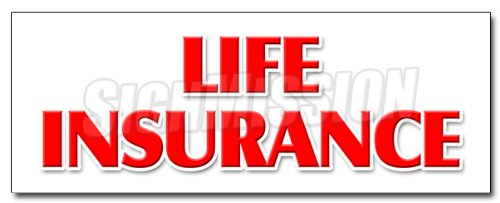 24  Life Insurance Decal Sticker Financial Income Quotes Terms Servicews