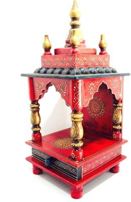 Du0027Dass Wooden Vintage Home Temple For Home/Rajasthani Vintage Wooden Temple/  Pooja