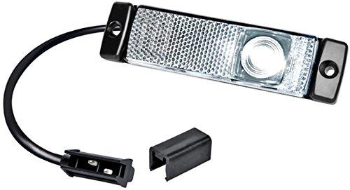 HELLA 2PG 008 645-641 Positionsleuchte, Anbau links/rechts, 5000 mm Kabel, LED, 24 V, glasklar Hella KGaA Hueck & Co.