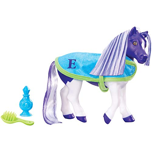- Breyer Color Changing Bath Toy, Ella the Horse, Purple / White with Surprise Pink Color, 7