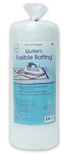 June Tailor Quilt Low Loft Fusible Batting, 90 x 108-Inch/Queen