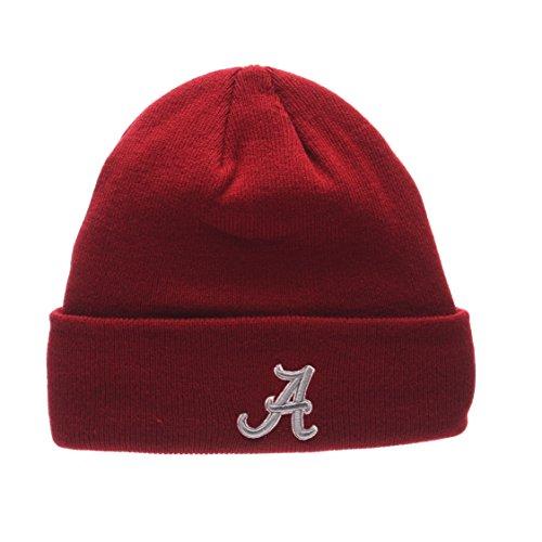 ZHATS Alabama Crimson Tide Cardinal POP Cuff Beanie Hat - NCAA Cuffed Winter Knit Toque Cap