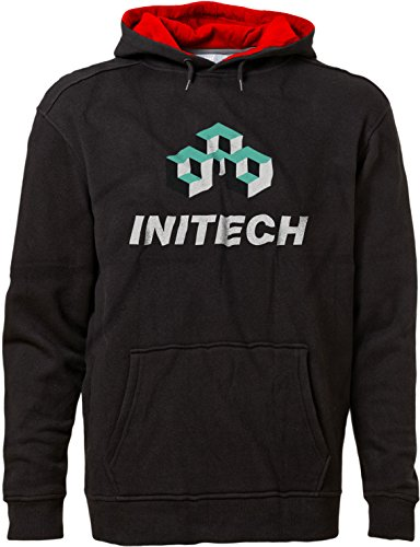 ftware Office Space IT Logo Premium Hoodie XS Blk/Red ()