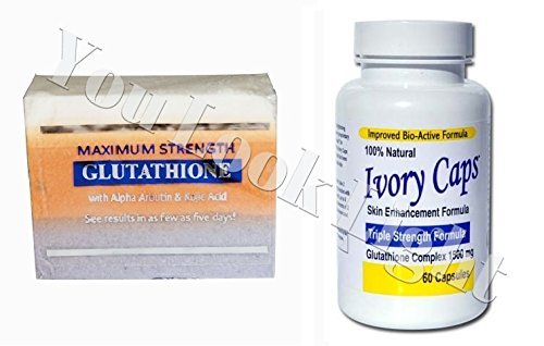 (GC2) Premium Maximum Whitening/Peeling Soap w/ Glutathio...