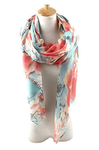 gerinly-womens-scarves-blumarine-floral-pattern-soft-satin-wrap-scarf-orange-cyan