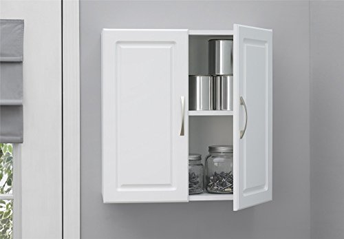 "SystemBuild Kendall 24"" Wall Cabinet, White"