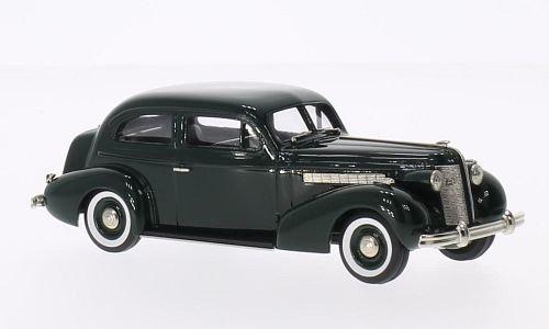 Buick Special 2-Door Touring Sedan M-48, dark green, 1937, Model Car, Ready-made, Brooklin 1:43 (Special 2 Door Buick)