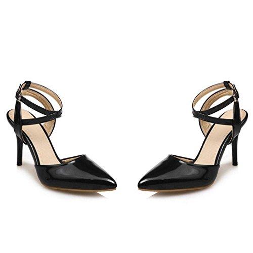 Coolcept bout à Chaussures pointu Noir à femmes mode la pour pp1v7rwq