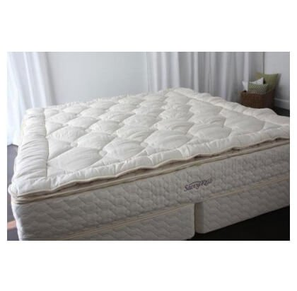 Savvy Rest Organic Mattress (Organic Topper Woolsy - Size: king)