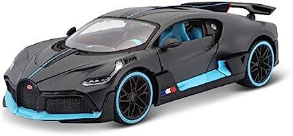 Maisto Bugatti Divo 1:18 Special Edition Diecast Car Blue. Dark Gray