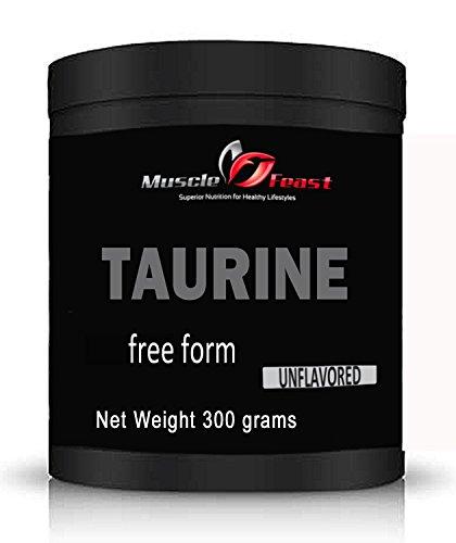 L-taurina en polvo 300 gramos (10,5 onzas)