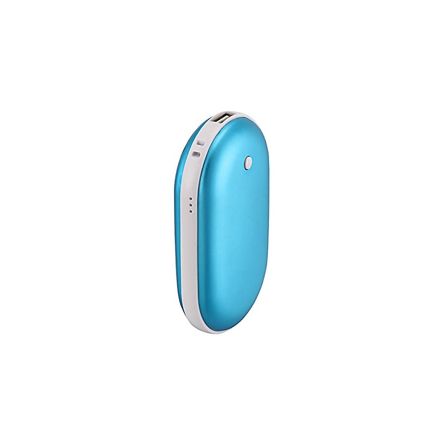 Baisidai 5000Mah Portable USB Charger Pocket Electric Hand Warmer Rechargeable Heater