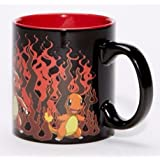 Pokemon Charmander Evolution Heat Change Coffee Mug