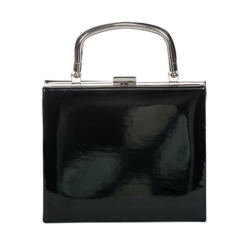 Women's Evening Purses Fashion Wedding Black Handbag WALLYN'S Wristlet Clutch Bags rrUSfB
