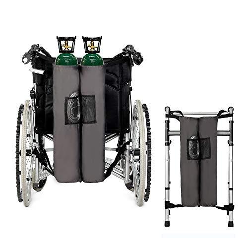 (Oxygen Backpack Holder Wheelchair Walker Carrier Portable Oxygen Tank Bag