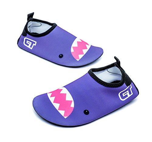 Dry Quick Shoes Slip A5 amp; Giotto Non purple Kids Girls Swim for Water Boys wSBtnCXq