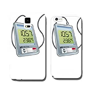 Water - Measures: pH meter cell phone cover case Samsung S6