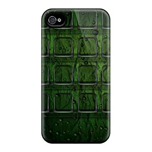 Awesome Design Darkgreenzooom Hard Case Cover For Iphone 4/4s
