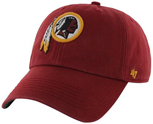 NFL Washington Redskins '47 Franchise Fitted Hat, Razor Red, - Washington M Street