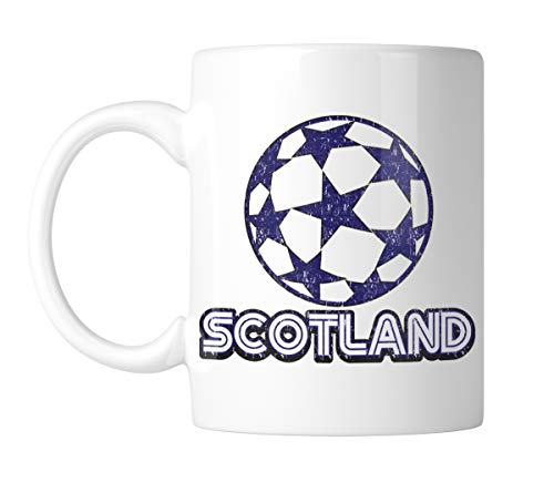 (Amdesco Scotland Soccer 11 Oz White Coffee Mug (1 Mug))