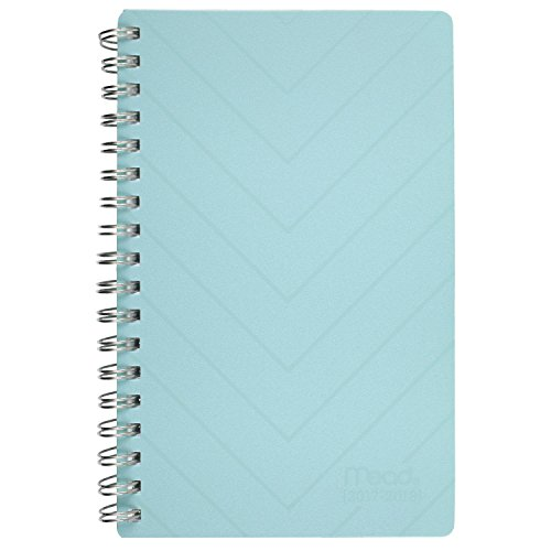Mead Academic Weekly / Monthly Pocket Planner, July 2017 - June 2018, 3-3/4'' x 6-1/4'', Conservative, Color Will Vary (CAW30110) by Mead