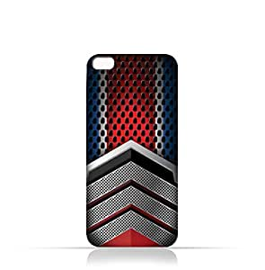 AMC Design Lava Iris 870 TPU Silicone Case With Geometric Mesh Pattern Design - Multi Color