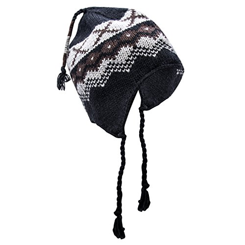 Jacquard Knit Caps - 4