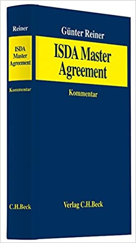 Isda Master Agreement 9783406631689 Amazon Books