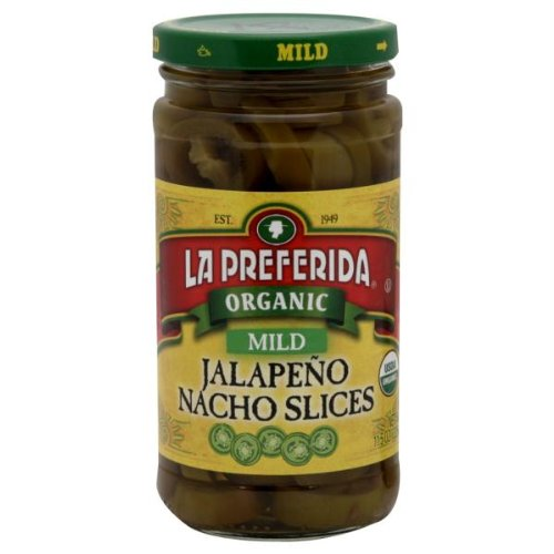 La Preferida Nacho Sliced Mild Jalapeno, 11.5 Ounce - 12 per case.
