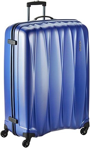 American Tourister Polycarbonate 79 cms Midnight Blue Suitcase (38W (0) 11 003)