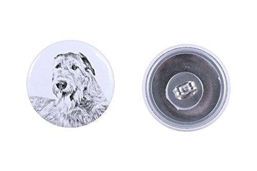 Irish Wolfhound, earrings with a dog - Irish Wolfhound Earrings