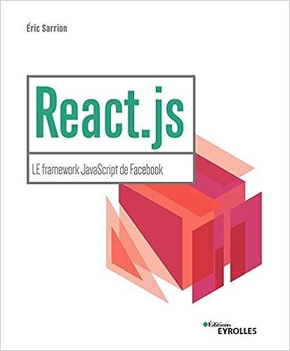 couverture du livre React.js : le framework JavaScript de Facebook