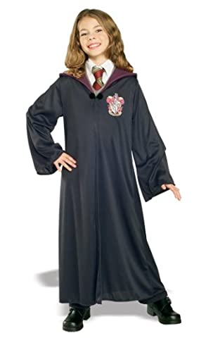 Harry Potter Child's Hermione Granger Gryffindor Robe, Medium (Harry Potter 7 Deluxe)