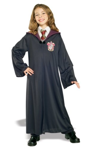 Accessory Costume Character (Rubie's Costume Harry Potter Child's Hermione Granger Gryffindor Robe, Medium)