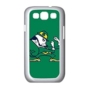 Notre Dame Fighting Irish Samsung Galaxy S3 9300 Cell Phone Case White