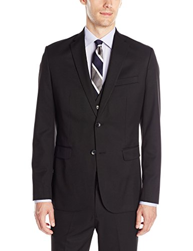 Calvin Klein Men's Suit Separate Sportcoat, Black, Large by Calvin Klein